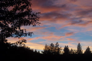 Sunsets in Nevada County